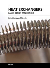 Heat Exchangers - Basics Design Applications