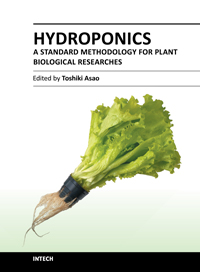 Hydroponics - A Standard Methodology for Plant Biological Researches