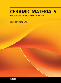 Ceramic Materials - Progress in Modern Ceramics