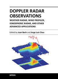 Doppler Radar Observations - Weather Radar, Wind Profiler, Ionospheric Radar, and Other Advanced Applications